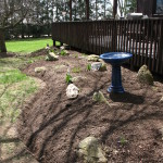 Finished with beautiful Mulch