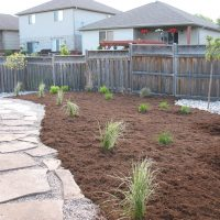 Flagstone and Pea Gravel