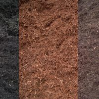 Coloured Mulch. Delivered to you