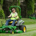 JD equipment mowers
