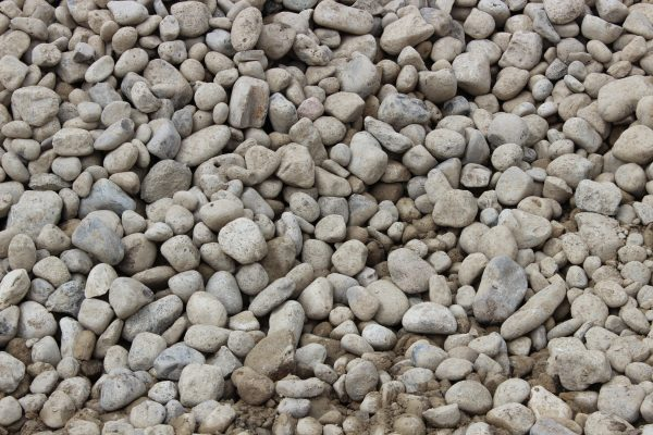 "2-5""  River Rock Close Up"