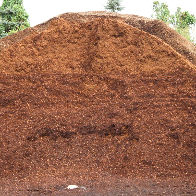 Shredded Hemlock Mulch