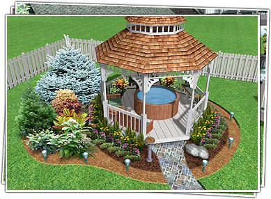 Gardens, Designs, and Renderings