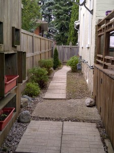 Side Walkway completed