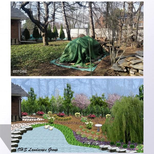 Ohs landscape group landscape services in kit wat camb for Pool design guelph