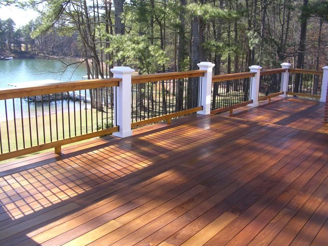 Platform Decks Backyard